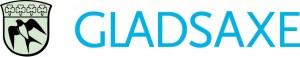 Gladsaxe logo 2009 Vandret blaa